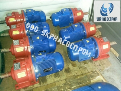Мотор-редуктор 3МП-31,5-45-0,75