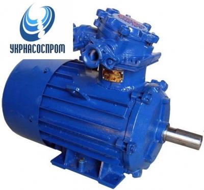 Электродвигатель АИУ 90 LА4 1,1 кВт 1500 об/мин шахтный электродвигатель