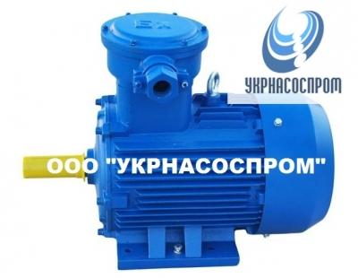 Электродвигатель АИМ 90 L6 1,5 кВт 1000 об/мин взрывозащищенный